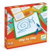 Eduludo - Malování krok za krokem - Zvířata