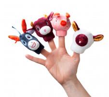 Lilliputiens - prstové loutky - Farma