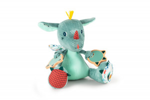 Lilliputiens - dráček Joe - plyšová hračka s aktivitami