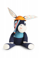 Lilliputiens - extra velká plyšová hračka - oslík Ignác