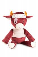 Lilliputiens - extra velká plyšová hračka - kravička Rosalie