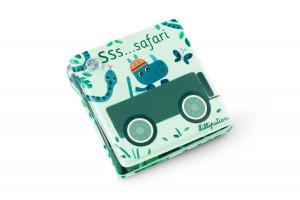 Lilliputiens - kúzelná knižka do vane s prísavkami – Safari