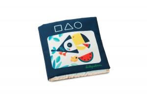 Lilliputiens - textilná didaktická knižka - Učíme sa tvary