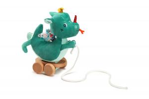 Lilliputiens - dráček Joe - tahací hračka