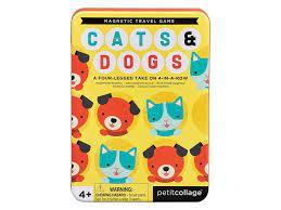 Magnetická hra Kočky a psi - Sleva poškozený obal