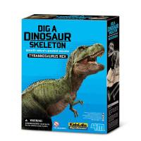 Vykopávka Tyranosaura rexe so skladacou kostrou