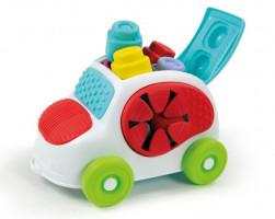 Clemmy baby - kyblík s kostkami - autíčko