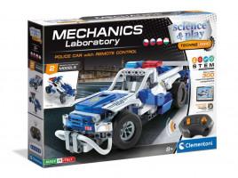 Mechanická laboratoř - RC Policejní auto - 2 modely - 300 dílků