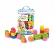 Clemmy baby - 48 kostek v plastovém pytli