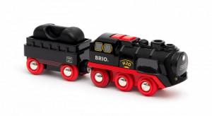 Brio - Parní lokomotiva s vodní nádrží na baterie