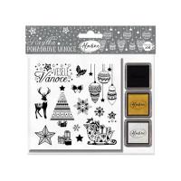 Stampo Noël, 14 ks - Pohádkové Vánoce