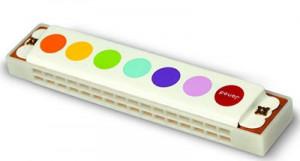 Ústna harmonika pre deti Confetti