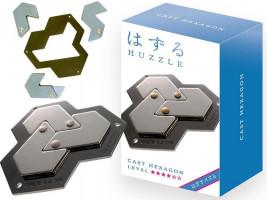 Hlavolam Huzzle Cast - Hexagon