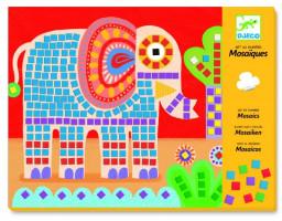 Mozaika – slon a slimák