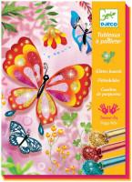Výtvarná hra Třpytiví motýli