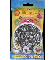 Hama Midi -  korálky stříbrné 1000 ks