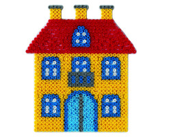 Hama Midi - podložka domeček