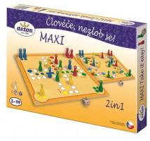 Člověče nezlob se maxi - 2 hry