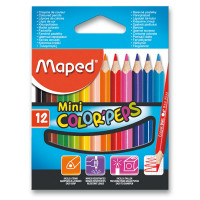 Pastelky Maped Color'Peps Mini - 12 barev