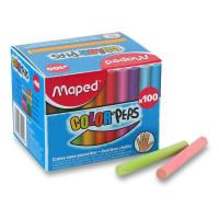 Farebné školské kriedy- Maped 100 ks