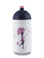 Zdravá lahev 0,5 l - Dívka s deštníkem