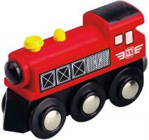 Maxim Parná lokomotíva – červená