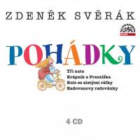 Pohádky - audiokniha na 4 CD