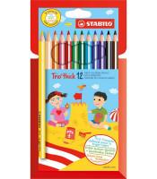 Farbička Stabilo Trio - 12 farieb