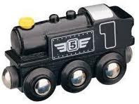 Maxim Parná lokomotíva – čierna