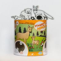 Dětská razítka StampoMinos - Lesní zvířata
