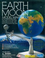 Pohyblivý model Země a Měsíce - svítící ve tmě