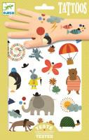 Tetování - zábavná zvířata