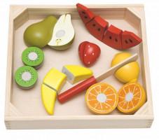 Krájanie na doštičke – ovocie s melónom