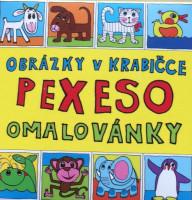 Pexeso - omalovánky - zvířátka