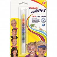 Obličejové barvy Edding Face Fun Family - 7 barev
