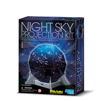 Mapa noční oblohy 3D