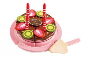Narozeninový dort dvoupatrový