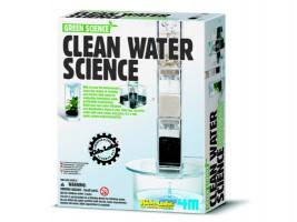 Čistá voda - pokusy s filtrovaním