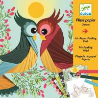 Výtvarná hra - Ptáci -  iris folding - skládání papíru