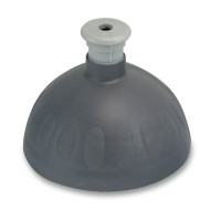 Náhradní víčko na Zdravou lahev, antracit/stříbrná